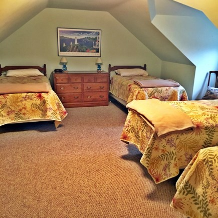 Eastham Cape Cod vacation rental - 2nd Floor Bedroom - 4 Twins