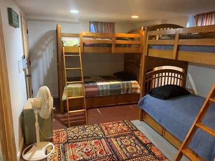 Hyannis Cape Cod vacation rental - Down Stairs Bunk room