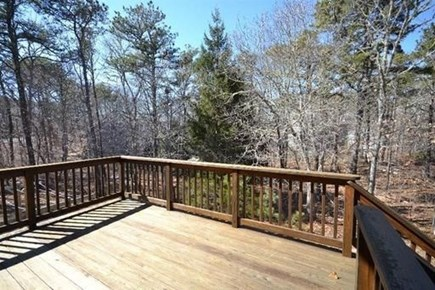 Eastham Cape Cod vacation rental - Large deck great for relaxing!