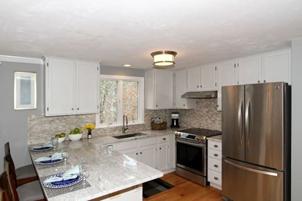 Eastham Cape Cod vacation rental - Modern kitchen with all the amenities you could want.