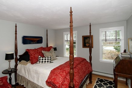 Eastham Cape Cod vacation rental - Beautifully furnished bedroom with queen size bed.