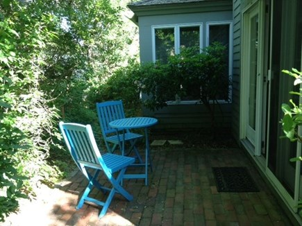 New Seabury, Mashpee New Seabury vacation rental - Back Patio