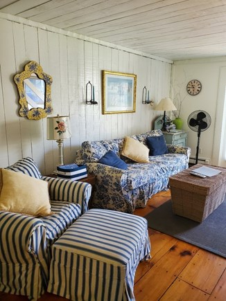 New Seabury, Mashpee New Seabury vacation rental - Charming living area with Sofa Bed