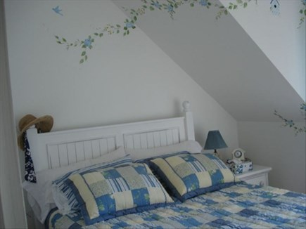 New Seabury, Mashpee New Seabury vacation rental - Upstairs Master Bedroom with Queen Bed & Private Balcony