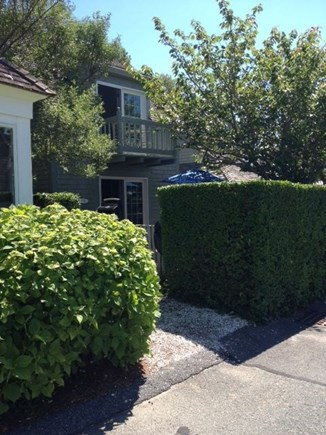 New Seabury, Mashpee New Seabury vacation rental - Front Exterior with Front Patio and privacy