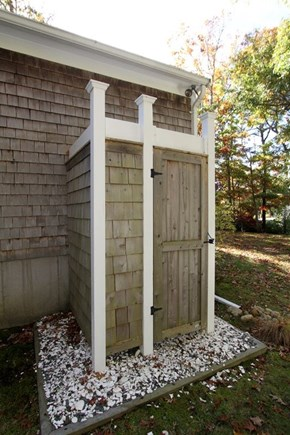 Brewster Cape Cod vacation rental - Enjoy an outdoor shower after a day at the beach