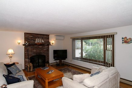 Brewster Cape Cod vacation rental - Comfortable living room with lots of space