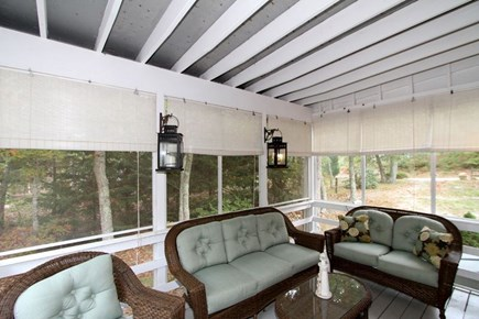 Brewster Cape Cod vacation rental - Plenty of room in this great screened in porch