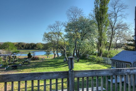 Orleans Cape Cod vacation rental - Open green space behind the home for your enjoyment.