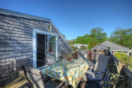 Orleans Cape Cod vacation rental - Private deck for reading or sunning.