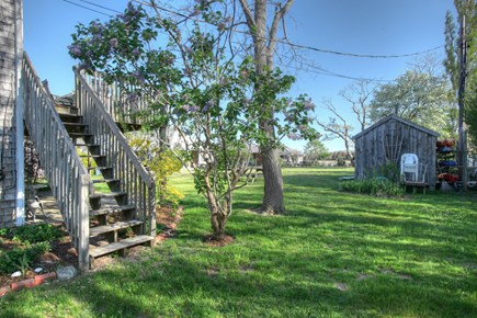 Orleans Cape Cod vacation rental - Steps down to shared backyard.