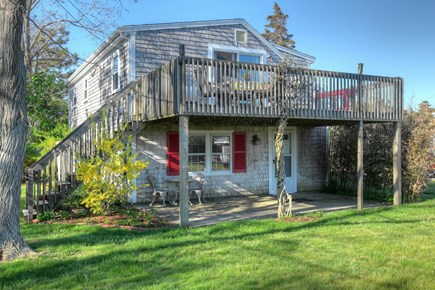 Orleans Cape Cod vacation rental - View of deck and suite from below.