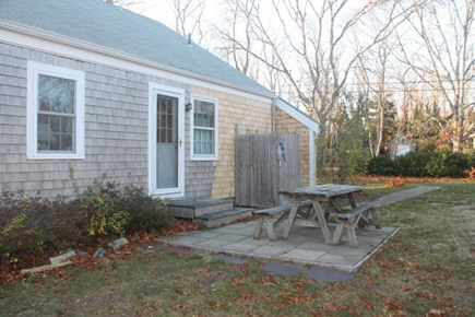 Eastham Cape Cod vacation rental - Picnic table