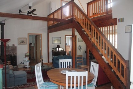 Eastham Cape Cod vacation rental - Open living area