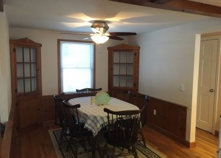Harwich Cape Cod vacation rental - Separate dining area to enjoy a hearty Cape Cod Breakfast !