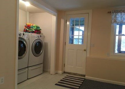 Harwich Cape Cod vacation rental - Laundry area located in finished basement