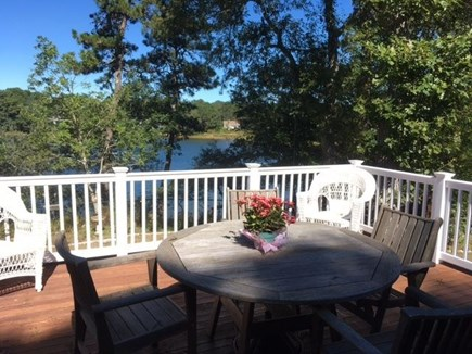 Harwich Cape Cod vacation rental - Beautiful Deck overlooking Josephs Pond.