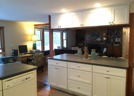 Harwich Cape Cod vacation rental - Enjoy the open concept kitchen and living room set up