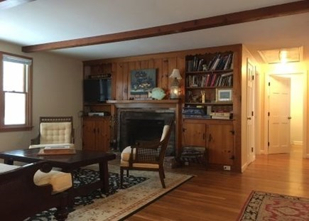 Harwich Cape Cod vacation rental - Great room for family game night!