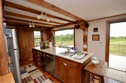 East Orleans Cape Cod vacation rental - Full kitchen with ocean views
