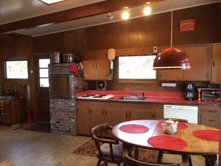 Wellfleet Cape Cod vacation rental - Great retro kitchen