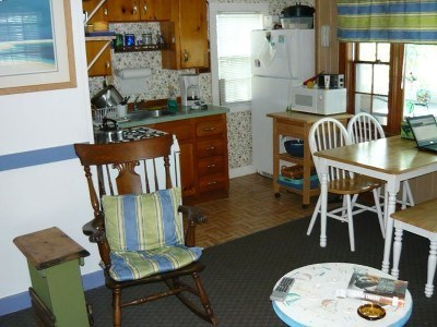 Eastham Cape Cod vacation rental - View of kitchen area