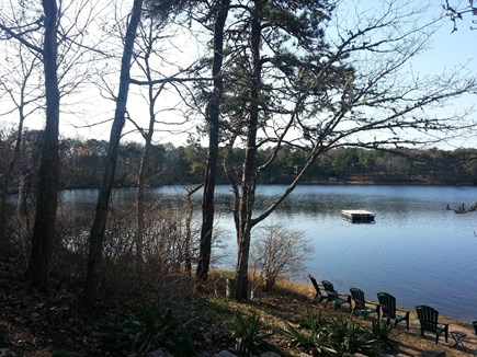 Eastham Cape Cod vacation rental - View of lake