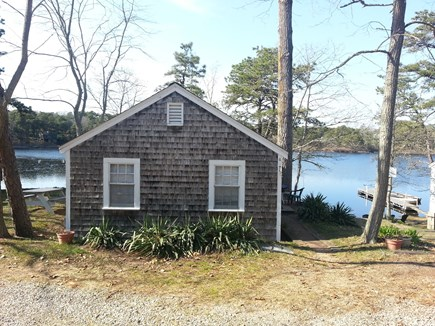 Eastham Cape Cod vacation rental - Cottage with the lake in back