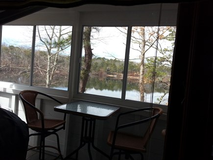 Eastham Cape Cod vacation rental - View from the porch