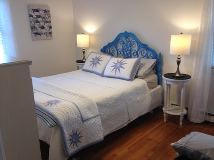 Harwich Cape Cod vacation rental - Queen size bed on first floor.