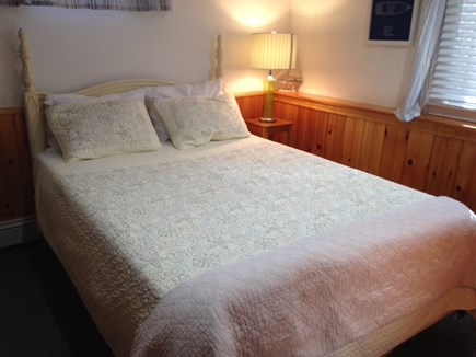 Harwich Cape Cod vacation rental - Queen size Sealy Posturepedic bed on lower level.