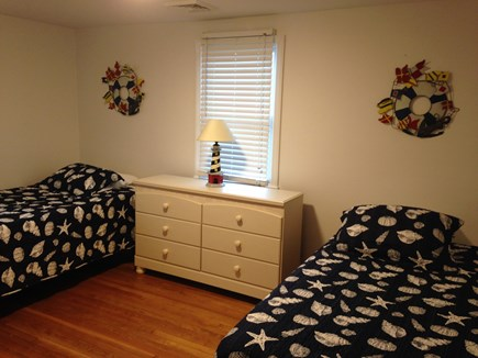 Harwich Cape Cod vacation rental - Two twin size beds in second bedroom on first floor.
