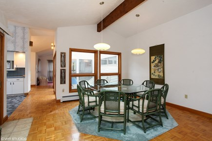 North Falmouth Cape Cod vacation rental - Combination dining and family room