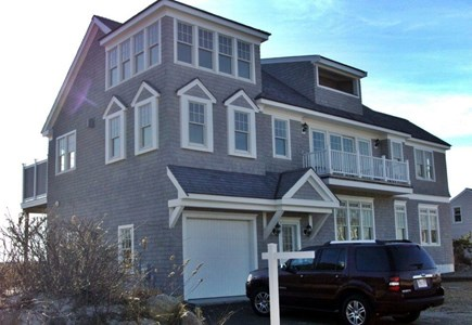 Dennis Cape Cod vacation rental - Front of luxury 4 BR home directly across from Cape Cod Bay