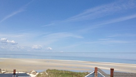Dennis Cape Cod vacation rental - Views of ocean across street. Experience most incredible sunsets