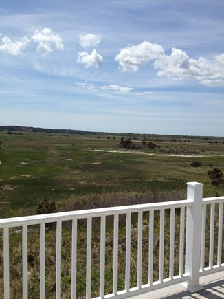 Dennis Cape Cod vacation rental - Spectacular views from spacious upper deck of the salt marsh.