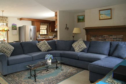 Cotuit, Barnstable Cotuit vacation rental - Living room with Large HD TV