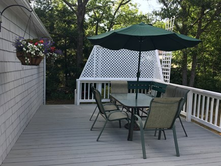 Cotuit, Barnstable Cotuit vacation rental - Deck Overlooking Back Yard with Garden