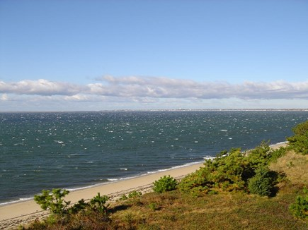 North Truro Cape Cod vacation rental - Beautiful beach on Cape Cod Bay is just steps away