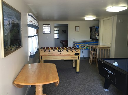 Hyannis Cape Cod vacation rental - Game Room-pin ball not available