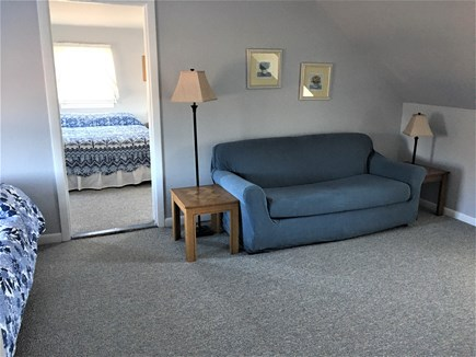 Hyannis Cape Cod vacation rental - 2nd Floor Suite R-Living Room with Tv/sofa/futon and full bath.