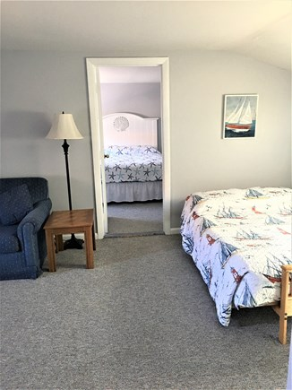 Hyannis Cape Cod vacation rental - 2nd Floor Suite 1-Living Room with Tv/sofa/futon and full bath.