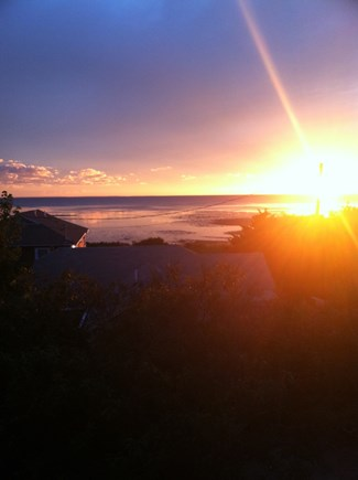 Eastham Cape Cod vacation rental - From our Deck...mesmerizing sunsets.