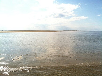 Eastham Cape Cod vacation rental - Our beautiful private Bay Beach.