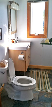 Eastham Cape Cod vacation rental - Half Bath-Second Floor-newly remodeled.