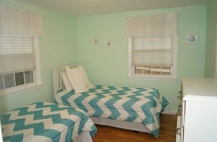 Chatham, Cockle Cove area Cape Cod vacation rental - Bedroom #3 also with two twin beds