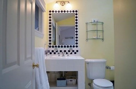Chatham, Cockle Cove area Cape Cod vacation rental - Full master bathroom off bedroom
