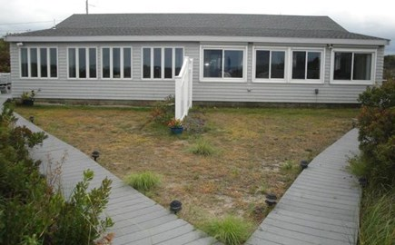 Dennis Cape Cod vacation rental - Rear view of the condo. We're located on the right hand side.