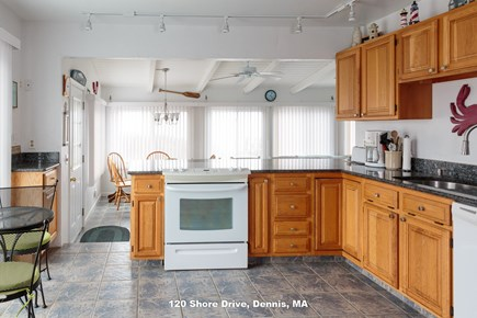 Dennis Cape Cod vacation rental - cooking with ocean views... ahhh...