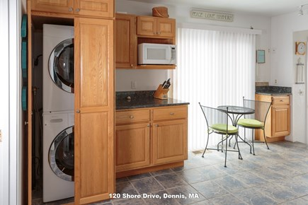 Dennis Cape Cod vacation rental - washer and dryer! yippee!